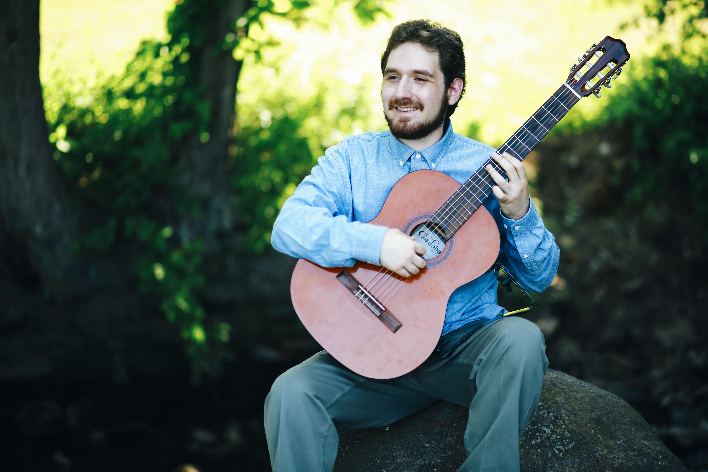 Ben Riley classical guitar photo