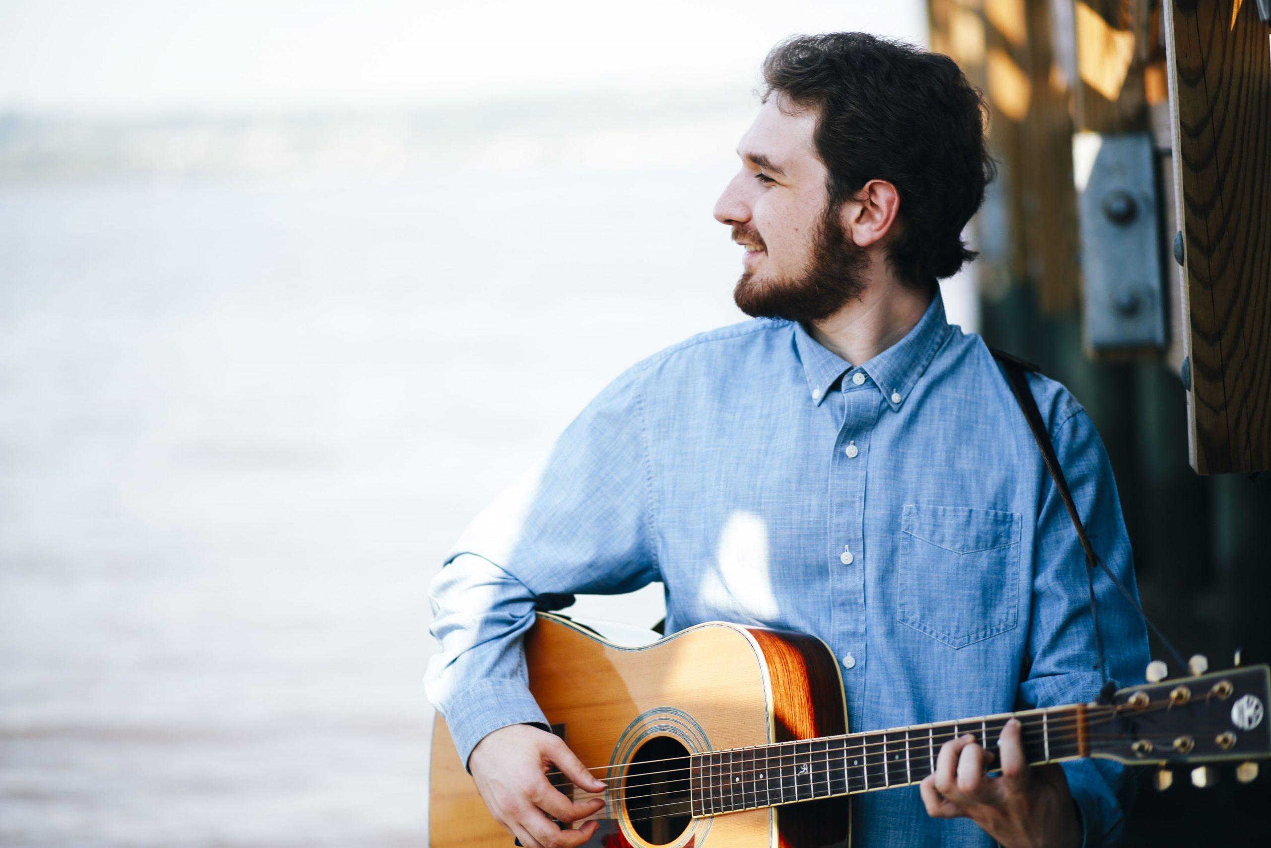Ben Riley acoustic headshot