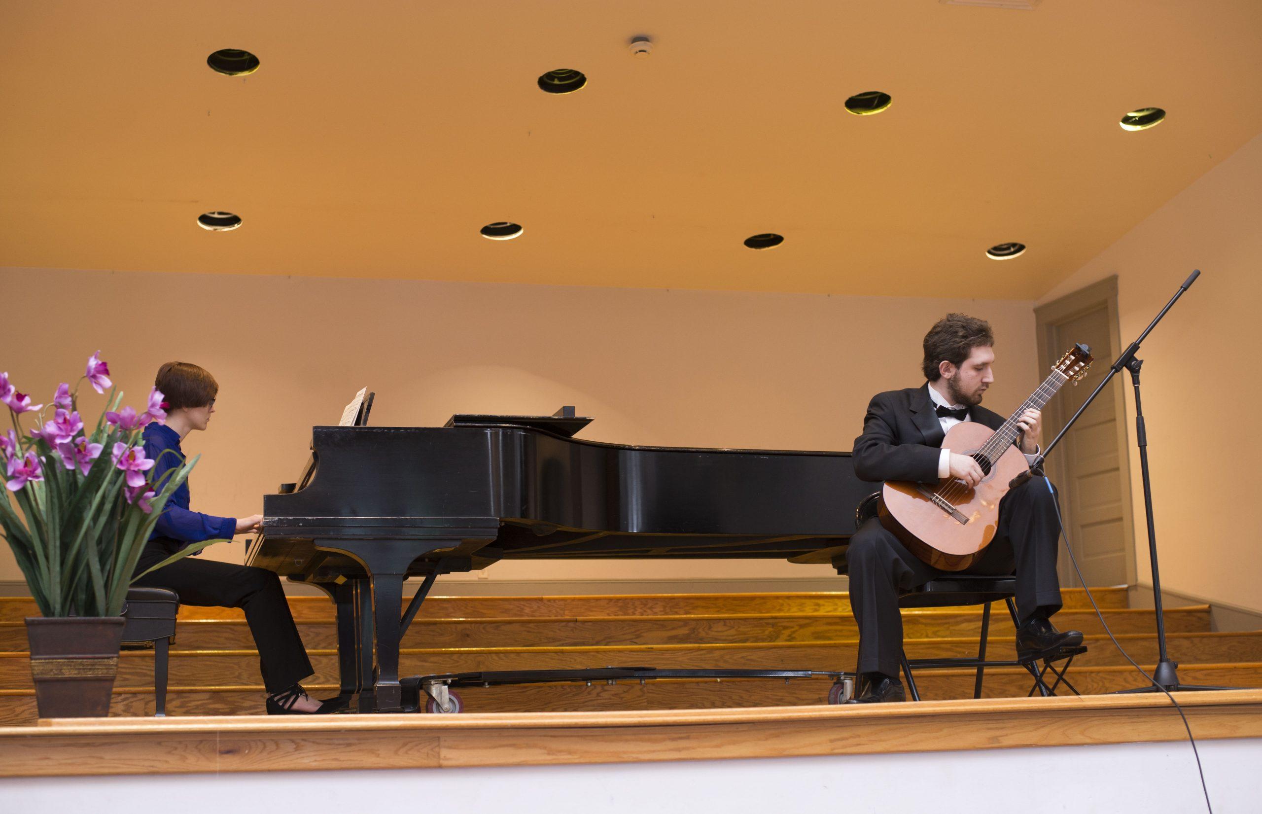 Ben Riley and Lena Kunz in Concert