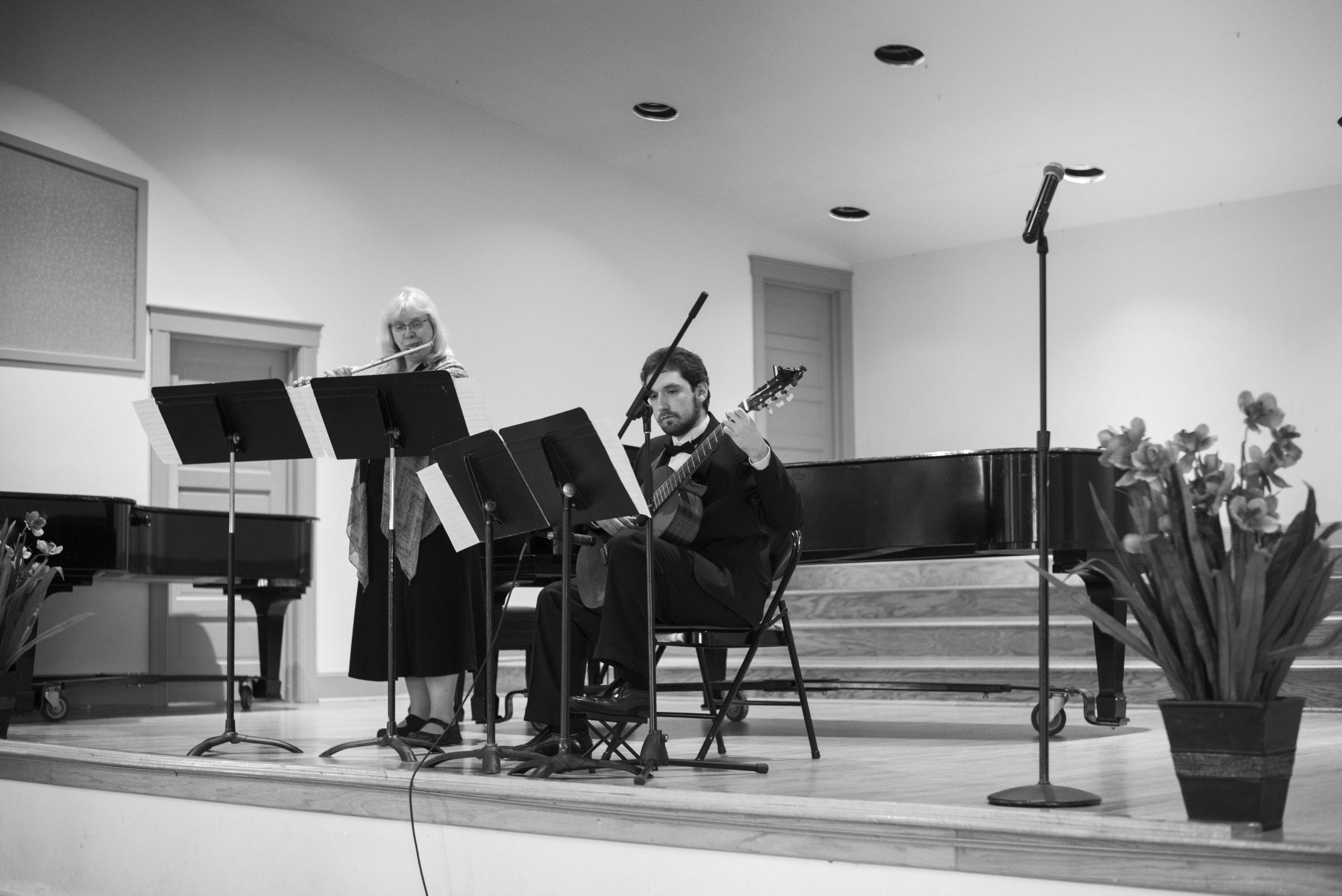 Ben Riley Senior Recital Duet with Dr. Marie Kenote, flute.